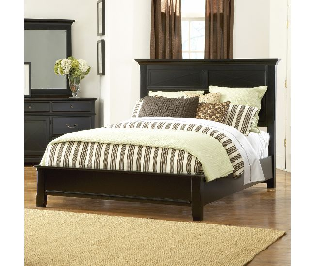Cobble Hill Full Queen Bed With Low Profile Footboard Furniture