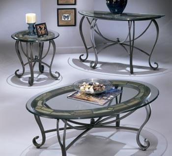 Danbury Oval Cocktail Table