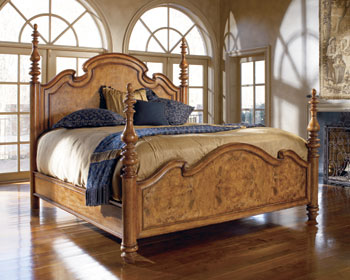 Hills Of Tuscany Lucca Poster Bed Furniture