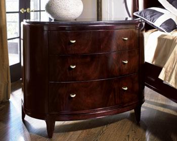 Nocturne Demi Lune Drawer Chest Furniture Times Com
