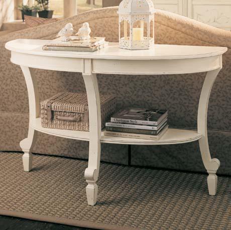 Portofino Ivory Console Table Furniture Times Com
