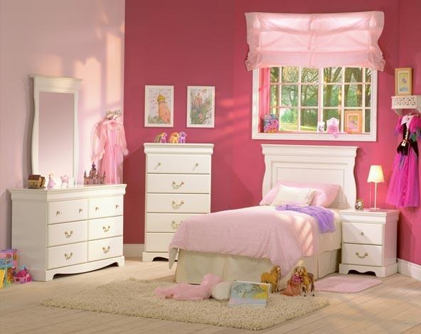 Juvenile bedroom 460 1252 furniture for Cheap little girl bedroom sets