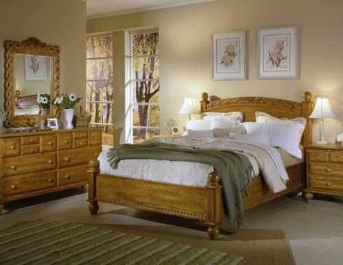Lake Cottage Rope Carved Bed Furniture Times Com