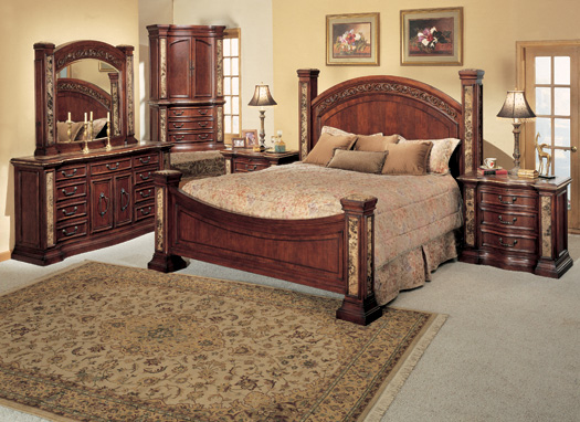 Monaco Bedroom Furniture