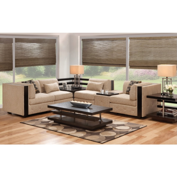 Square one collection l r set furniture for Wg r living room sets