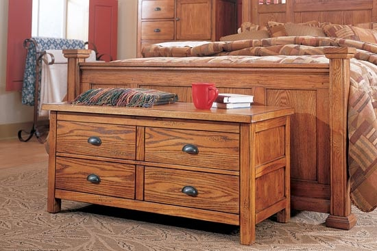 Stone Canyon Cedar Chest Furniture